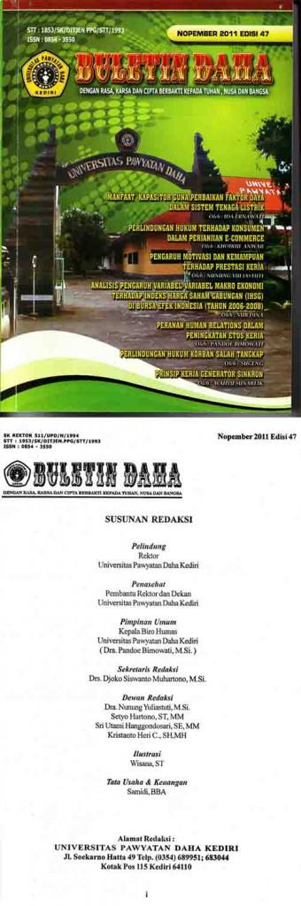 Cover Bulettin Daha Nopember 2011 Edisi 47