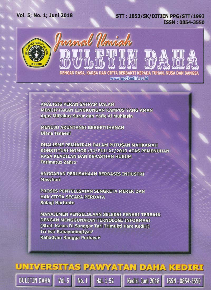 Cover Buletin Daha Vol 5 No 1 Juni 2018